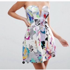 Asos mini panel dress